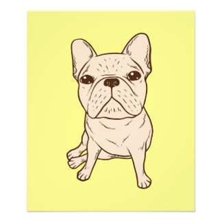 Cream French Bulldog Photo Print