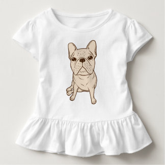 Cream French Bulldog Toddler T-Shirt