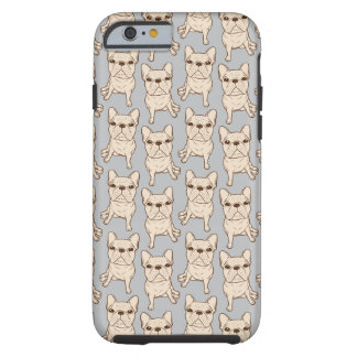 Cream French Bulldog Tough iPhone 6 Case