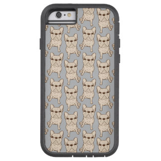 Cream French Bulldog Tough Xtreme iPhone 6 Case