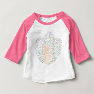 Cream Frenchie and the Spring foliage Baby T-Shirt