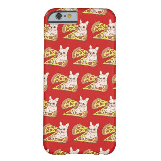Cream Frenchie invites you to her pizza party Barely There iPhone 6 Case