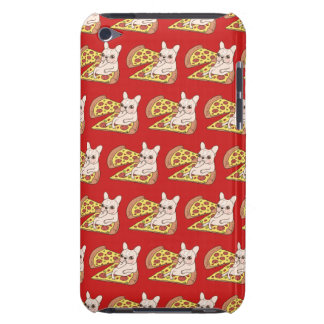 Cream Frenchie invites you to her pizza party Barely There iPod Case