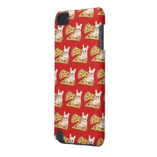 Cream Frenchie invites you to her pizza party iPod Touch 5G Case