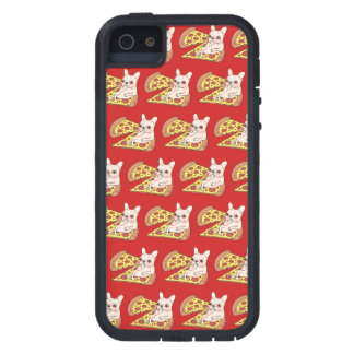 Cream Frenchie invites you to her pizza party Tough Xtreme iPhone 5 Case