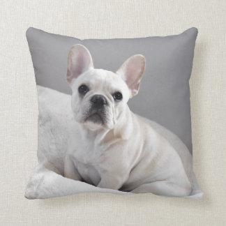 Cream Frenchie Pillow