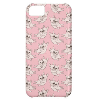 Cream Frenchie tells her you mother she loves her iPhone 5C Case