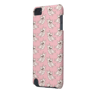 Cream Frenchie tells her you mother she loves her iPod Touch 5G Covers