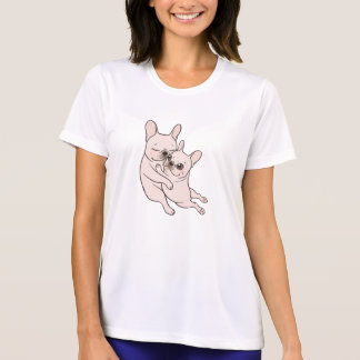 Cream Frenchie tells her you mother she loves her T-Shirt