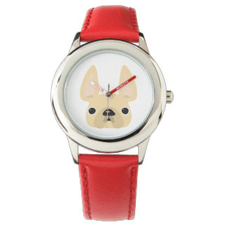 Cream Frenchie Watch