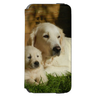 Cream Golden Retriever Dogs Incipio Watson™ iPhone 6 Wallet Case
