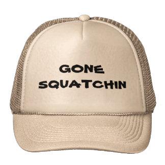 Cream Gone Squatchin Hat