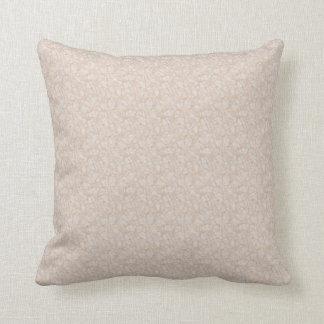 Cream Marble print pillow