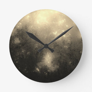Cream Marble Wall Clock