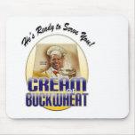 Cream of Buckwheat Mouse Pads
