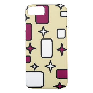 cream pattern Apple iPhone 7, Barely There iPhone 8/7 Case