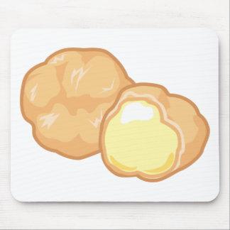 Cream Puff Mouse Pad