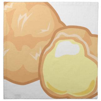 Cream Puff Napkin