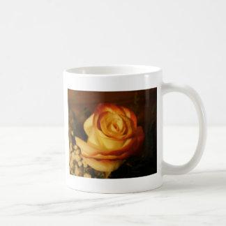 Cream Rose Photograph Coffee Mug