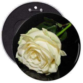 Cream Rose Pin