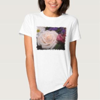 Cream Rose T-shirts