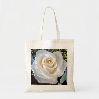 Cream Rose Tote Bag