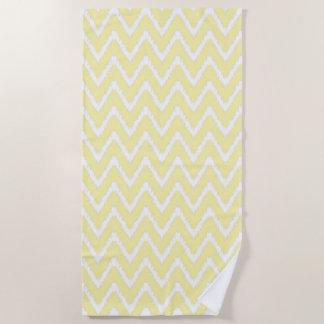 Cream Southern Cottage Chevrons Beach Towel