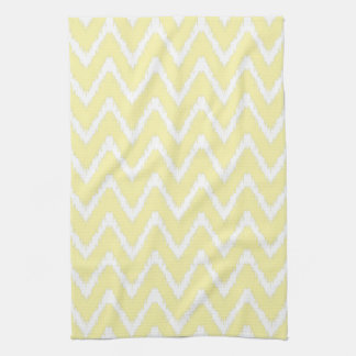 Cream Southern Cottage Chevrons Tea Towel