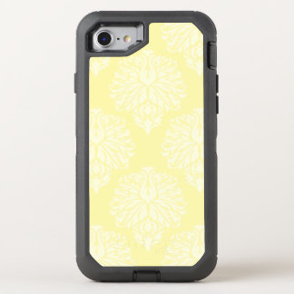 Cream Southern Cottage Damask OtterBox Defender iPhone 8/7 Case