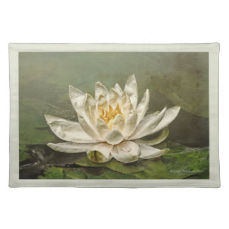 Cream Water Lily Placemat
