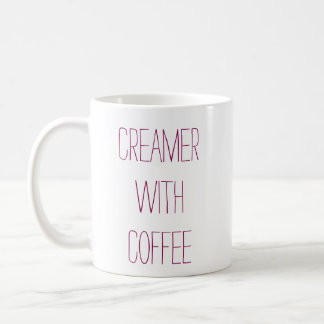 Creamer With Coffee Mug