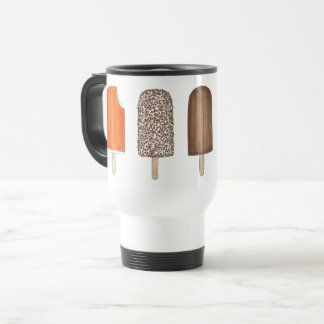 Creamsicle Fudgesicle Eclair Ice Cream Popsicles Travel Mug