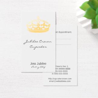 Creamsicle Jubilee Crown Business Card
