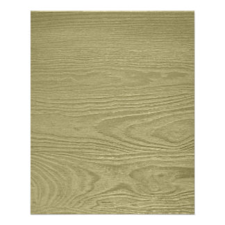 CREAMWOOD NEUTRAL BEIGE WOOD GRAIN TEXTURE TEMPLAT FULL COLOR FLYER