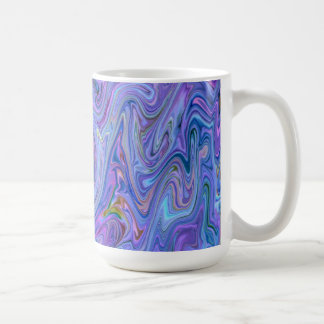 creamy Colors, blue Coffee Mug
