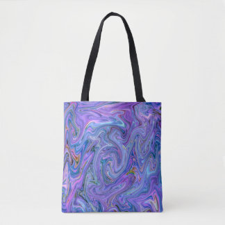 creamy Colors, blue Tote Bag
