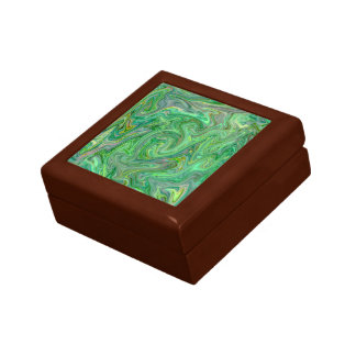 creamy Colors,green Gift Box