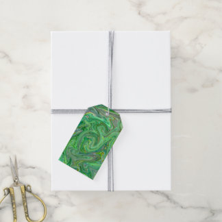 creamy Colors,green Gift Tags