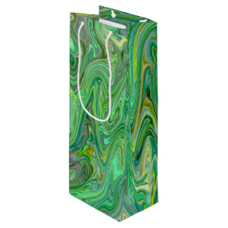 creamy Colors,green Wine Gift Bag