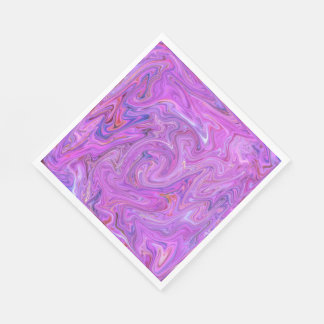 Creamy Colors,pink Disposable Napkin