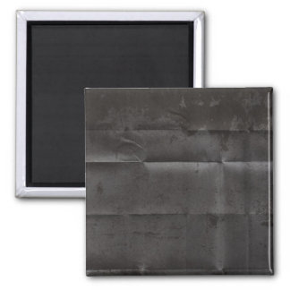 Creased Grungy Black Background Magnets