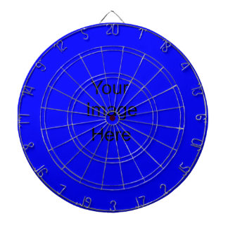 Create a Custom Dart Board Custom Blue 0000ff