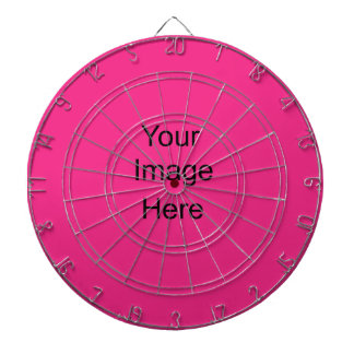 Create a Custom Dart Board Custom dark pink