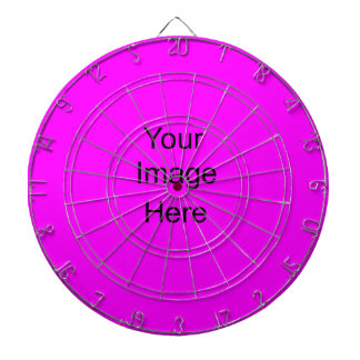 Create a Custom Dart Board Custom Fushia ff00ff