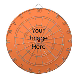 Create a Custom Dart Board Custom lt orange