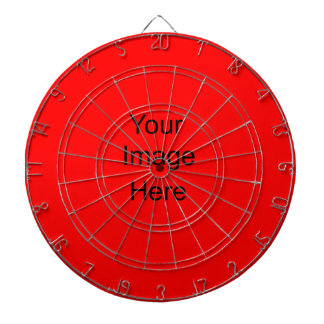 Create a Custom Dart Board Custom Red ff0000