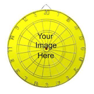 Create a Custom Dart Board Custom Yellow ffff00
