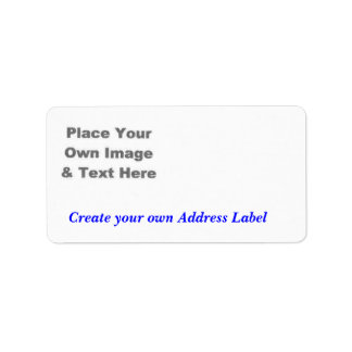 Create a Label Address Label