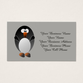 Create a Linux Penguin Business Card
