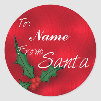 Create A Name Christmas Gift Tags